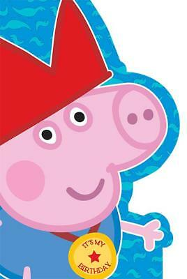Peppa /& George Pig Large 1st Birthday 1 Today Card 243222
