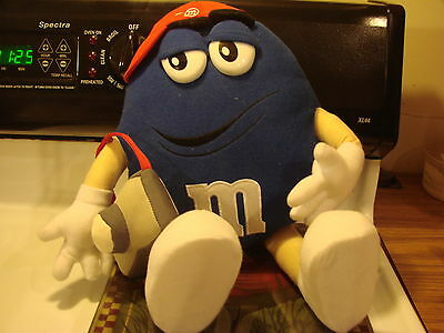 "M & M 15"" Blue Character Plush Stuff Toy Poseable Arms & Legs"