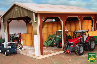 Brushwood Toys Big Bale Shed 1:32 Scale Bt6000