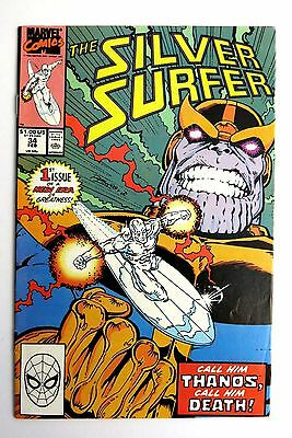 Silver Surfer 34 - Reintro Thanos - Marvel Comics