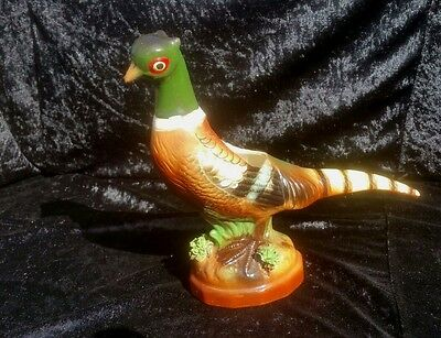 Vintage Ceramic Relpo Hand Painted 8' Collectible Pheasant Planter
