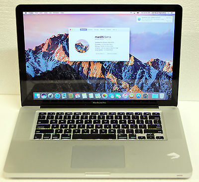 APPLE MACBOOK PRO A1386 15' 2011 Intel Core i7 Sierra