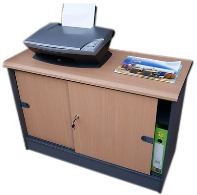 JDK Concept - Office Side cabinet, Sliding door Side cupboard for Home & office