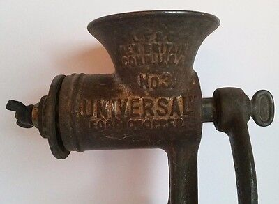 Universal Food Chopper No. 3 Antique ca 1900 L.F. & C. Kitchen Grinder ~ 04-012