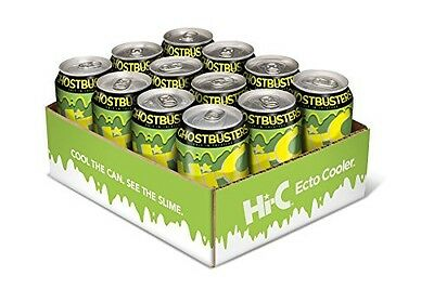 SOLD OUT Ghostbusters Hi-C Ecto Cooler 12-pack (Color-Changing Can) IN HAND!