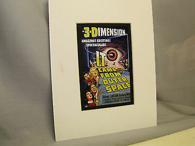 It Came From Outerspace Movie  Window Card from Pressbook to advise theater