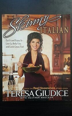 Skinny Italian book by Teresa Giudice Real Housewives of New Jersey cookbook