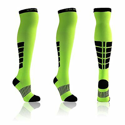 X31 Sports Knee High Compression Socks For Running Women And Men Athletic