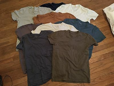 Lot 9 Everlane Barely Used T Shirts Men's Medium Rare Colors