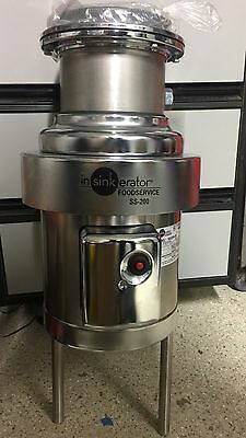 NEW In-Sink-Erator SS-200-29 Commercial Garbage Disposer