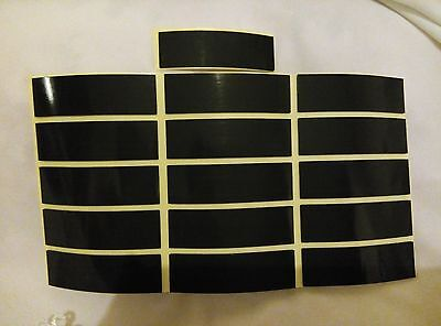 8 x Double Sided Sticky Self Adhesive Weatherproof Number Plate Pads 15X50X1MM