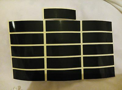 10 Double Sided Sticky Self Adhesive Weatherproof Number Plate Pads 15X50X1MM