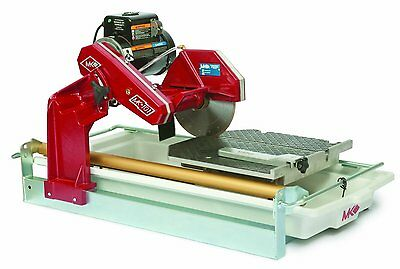 "Mk Diamond 169612 New 1 - 1/2"" HP 10 Inch Wet Cutting Tile Saw"