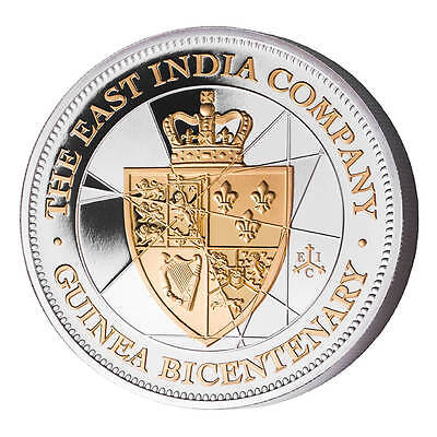 2016 East India Company St Helena 20 Pence 1 oz Silver Proof Coin
