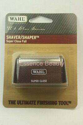 WAHL Shaver/Shaper Replacement SUPER CLOSE FOIL SILVER 5 Star Series