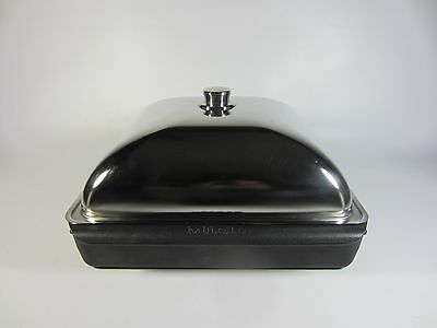 Gently Used Large Miele Stove Oven Casserole Baking Roasting Pan