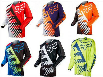 All Colors/Sizes Mens Motocross Racing Motorcycle Jersey Dirt Bike Off-road Gear