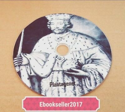 Plantagenets History, ebooks 55+ genealogy, pdf files for PC and Kindle on disc