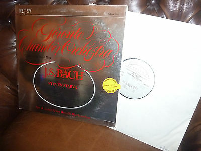 """Audiophile Direct to Disc Umbrella, Bach Concerto for Violin, STARYK, LP, 12"""""""