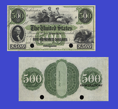 USA 500 dollars 1861. UNC - Reproduction