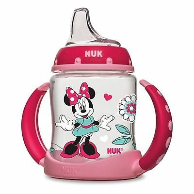 NUK Disney Baby Minnie Mouse Learner Cup 6 + Months, 1 cup, 5 oz (150 ml)