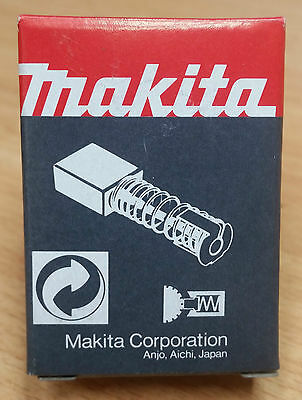 MAKITA Carbon Brushes Set / Pair OEM Genuine NOS CB 51 64 100 104 106 204 419
