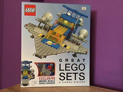 Great Lego Sets, A Visual History With Space Cruiser. Book, Story, Build, 11910