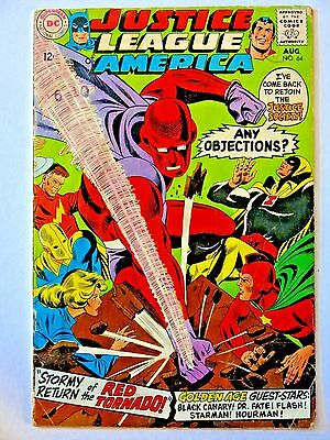 Justice League Of America #64 - 1st app. Red Tornado - DC Comics