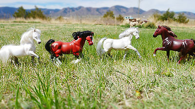 lot of vintage used grand champion / empire model horse figure draft horse GC