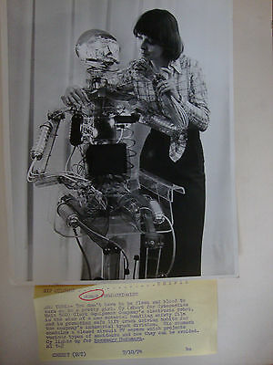 Robot Artificial Intelligence Photograph Archive 1960's-1970's