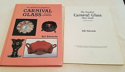 Carnival Glass Encyclopedia 2nd Ed. Edwards HB Book & Price Guide Illustrated