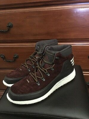 the best attitude 55731 ba68d Adidas D Rose Lakeshore Boost D69613 Suede Boots No Yeezy Nmd Ultra Zx Sz 11