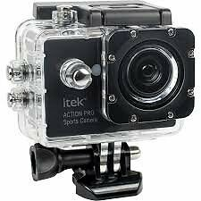 Brand New itek by Soundlogic Action Pro 1080p Ultra HD Action Sports Camera