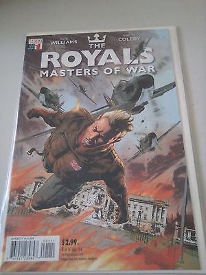 The Royals Masters of War Complete Mini-Series Issues 1,2,3,4,5,6