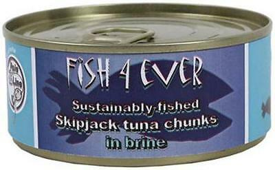 Fish 4 Ever Skipjack Tuna in Brine 160g