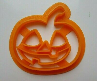 Pumpkin Halloween Cookie Cutter Spooky Dough Biscuit Pastry Jack O Lantern Shape