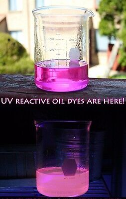 32oz Blacklight UV Reactive Hot Pink Rain Lamp Oil for Vintage Rain Drop Lamps