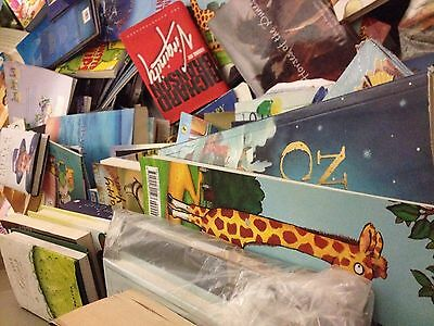 Joblot pallet bundle of 1000 used books - kids, educational, novels etc