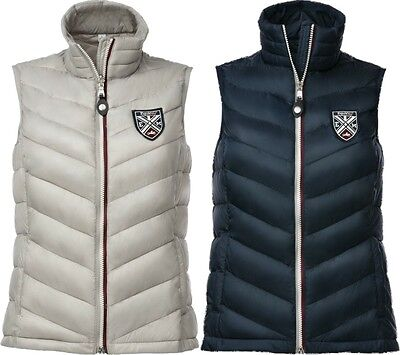 Equi-Theme Equit'M Mens Quilted Gilet Padded Waistcoat Navy Or Grey 978092