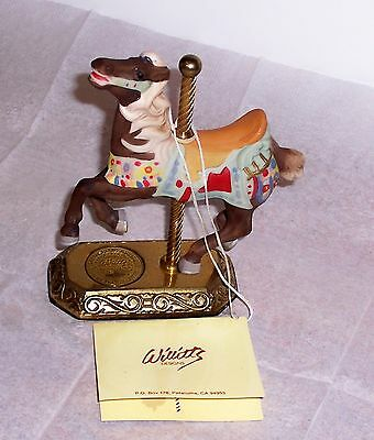 Willitts Carousel Memories American Collection Limited Edition 3256 Of 9500