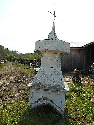 Antique Vintage Old Original Barn Cupola Galvanized Tin