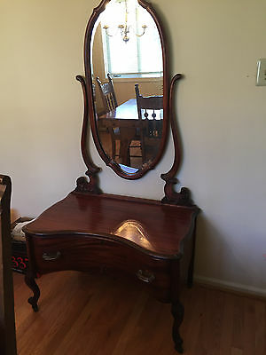 Estate Antique Vanity with Mirror  - Very Nice Condition