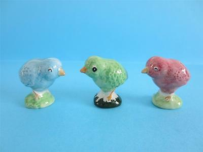 Wade Dyed Chick Whimsies Easter Figurine, 2012 Le 75, So Cute Discontinued