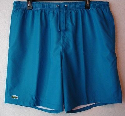 c072e1c51ce2 Lacoste Men s Diamante-Print Sport Drawstring Shorts