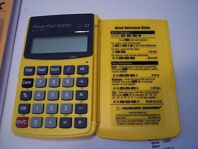 Calculated Industries ProjectCalc Classic Model 8503