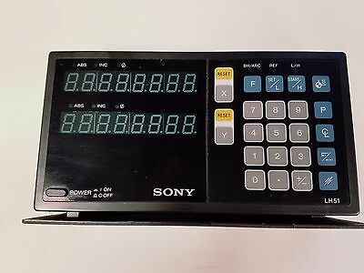 Sony Lh51-2, 2-Axis Readout