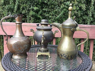 Antique tea coffee pots urns samovar