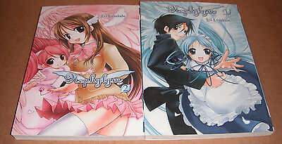 Nephylym Vol. 1,2 Manga Graphic Novels Complete Set English