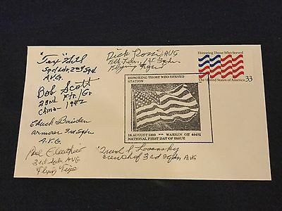 Flying Tigers First Day Cover, Honoring Those Who Served