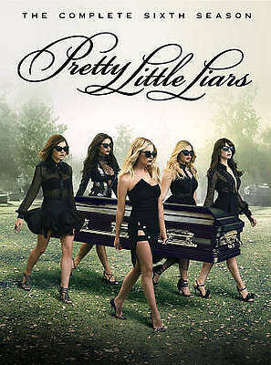 Pretty Little Liars: The Complete Sixth Season (DVD, 2016, 5-Disc Set) 6 Six NEW